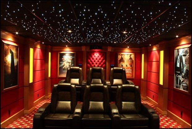 Meanwhile in My Pinterest Home Theater Room 28