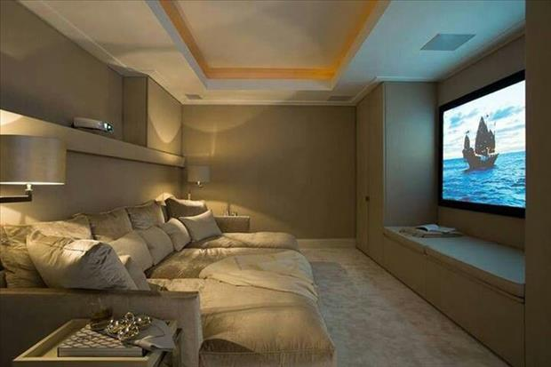 Meanwhile in My Pinterest Home Theater Room 4