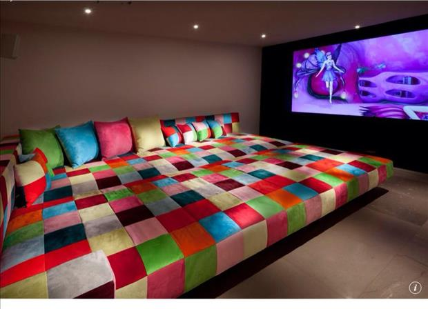 Meanwhile in My Pinterest Home Theater Room 7
