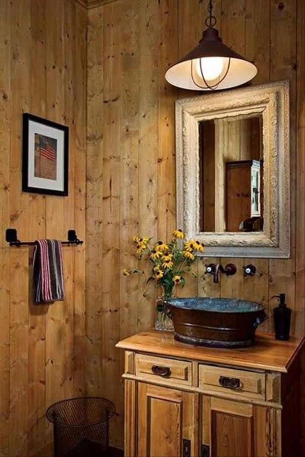 Meanwhile in my Pinterest Bathroom 26