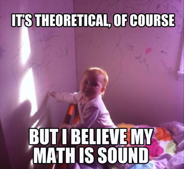baby does math