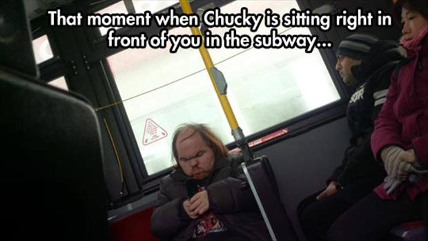 chucky on the bus