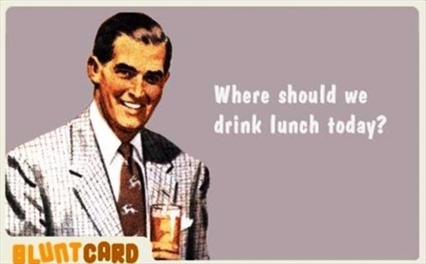 drink lunch