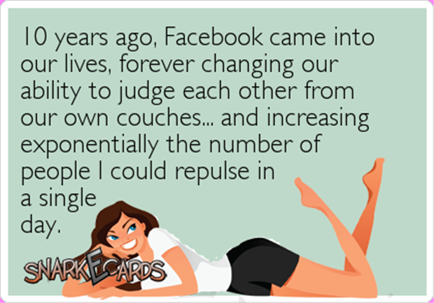 facebook is ten years old