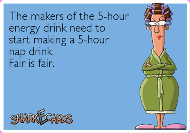 five hour energy drinks