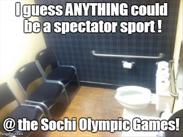 funny bathrooms at the olympics