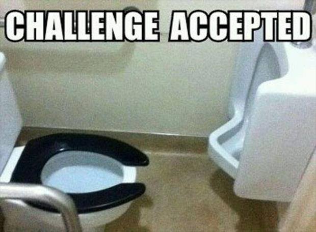 funny challenge accepted