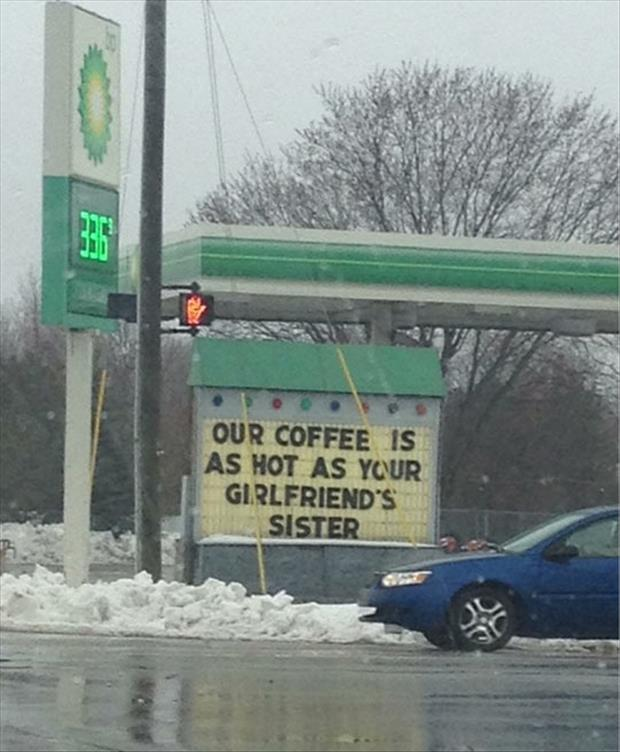 funny coffee signs