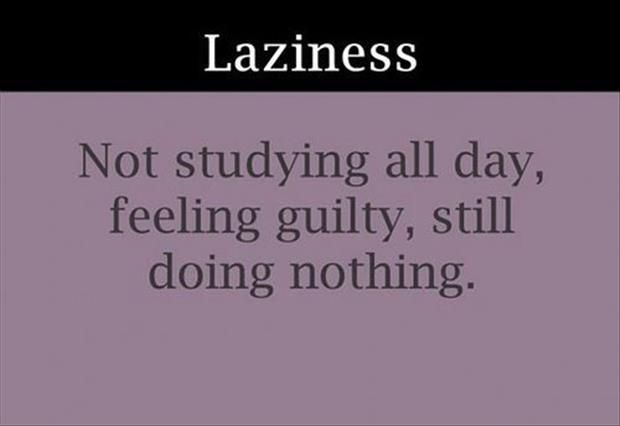 funny definitions laziness