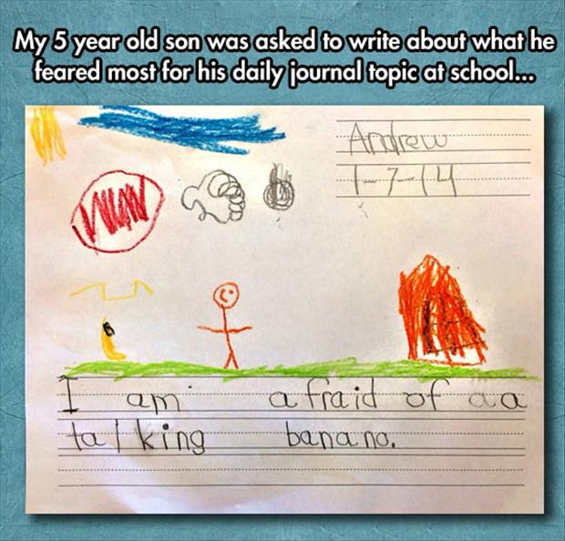 funny kid projects