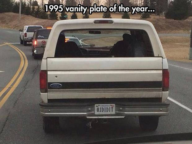 funny liscence plate