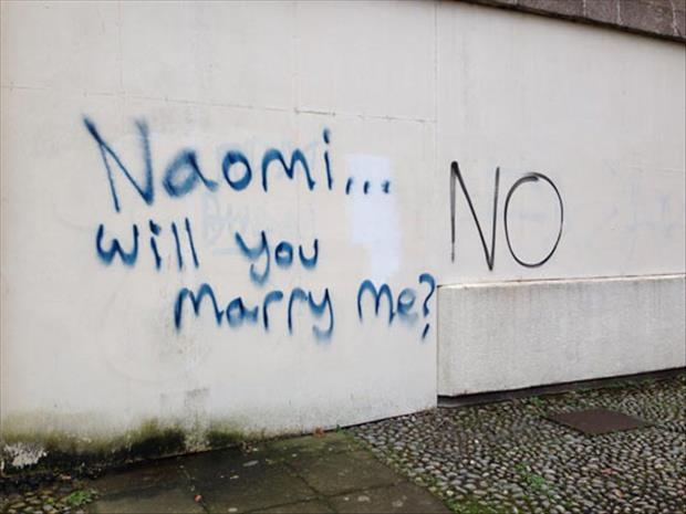 funny marriage proposals
