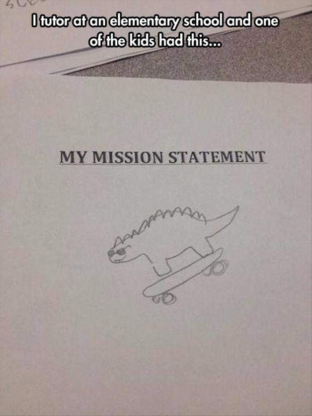 funny mission statements