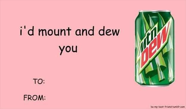 funny mount and dew