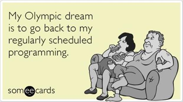 funny olympic dreams