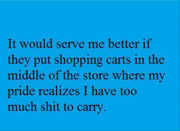 funny shopping carts