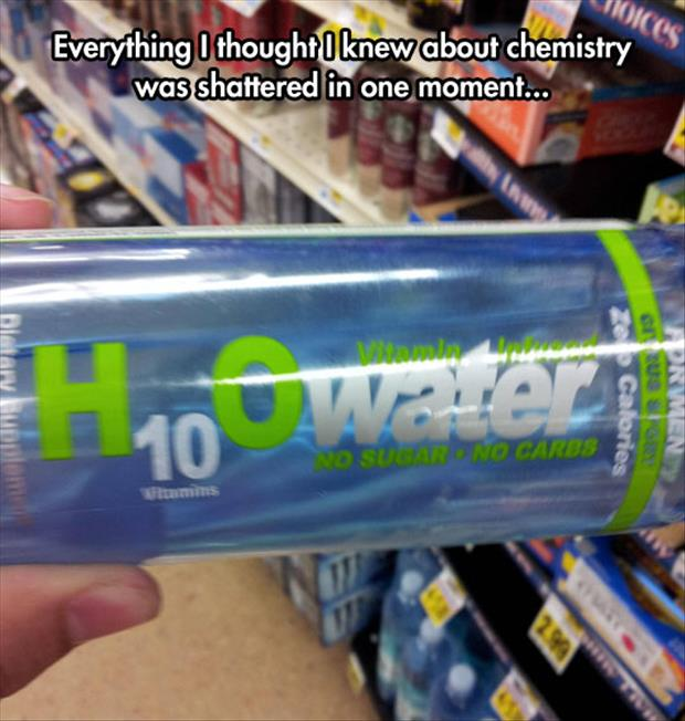 funny water