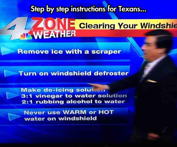 how to survive winter in texas
