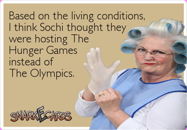 living conditions of the olympics