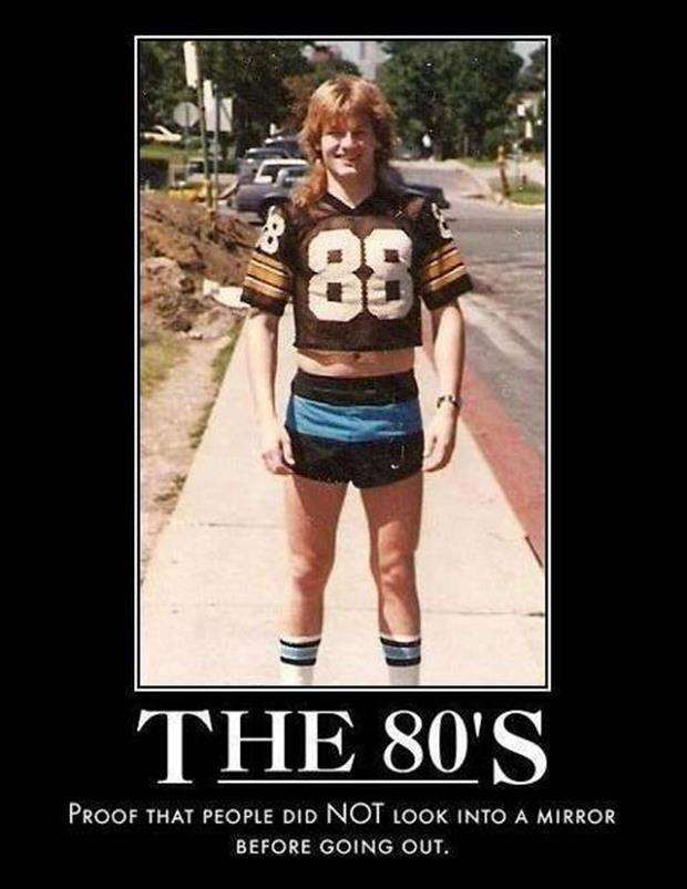 living in the 80's