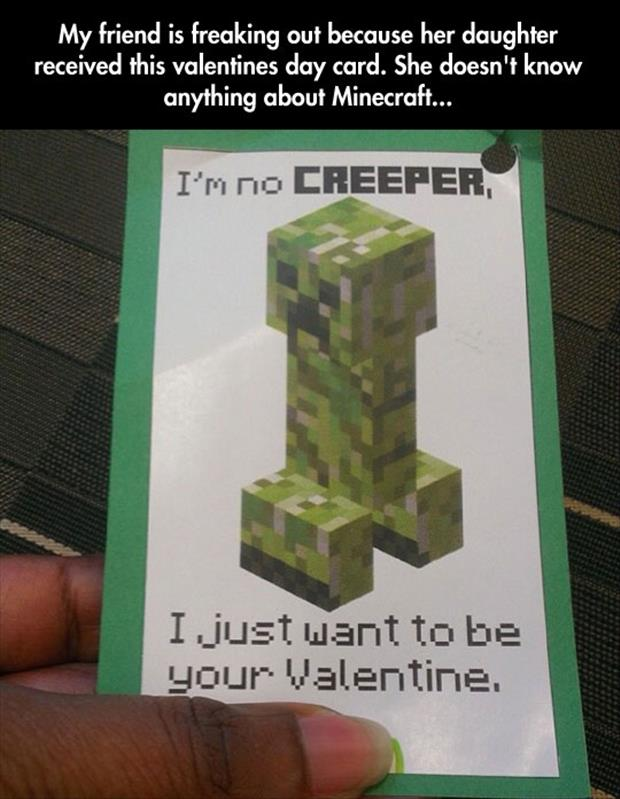 mindcraft creepers funny