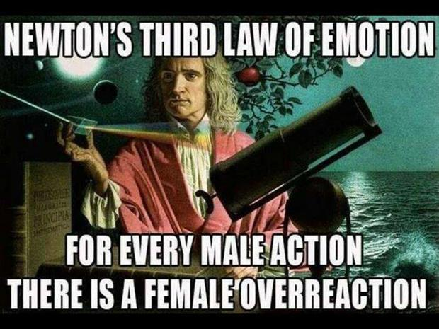 newton's laws funny