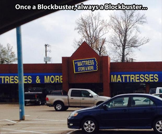 out of business blockbuster video