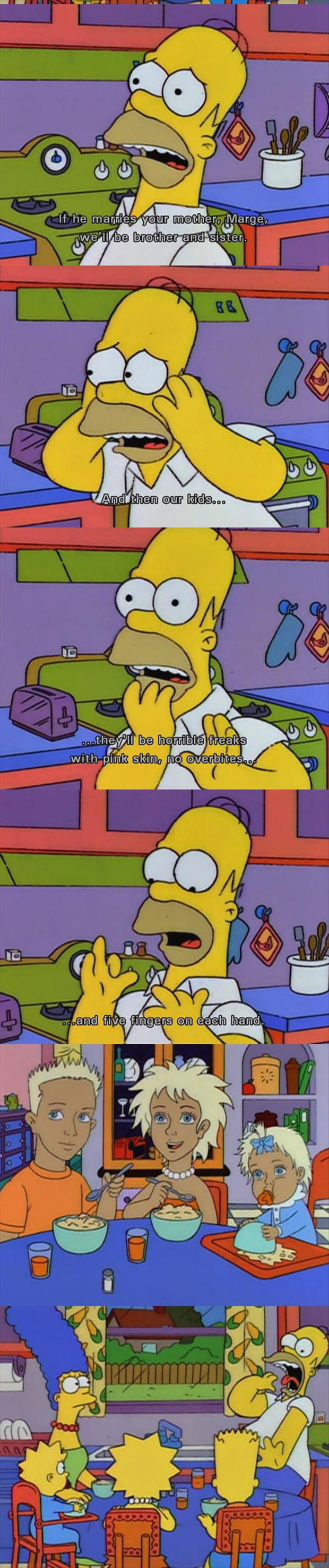 simpsons captions funny pictures