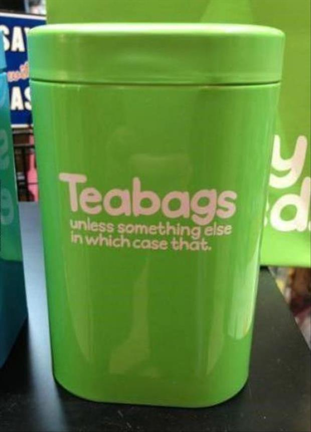 tea bag container