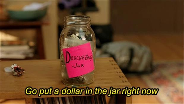 the douche bag jar