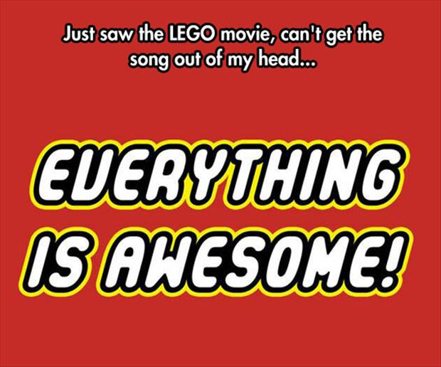 the lego movie song