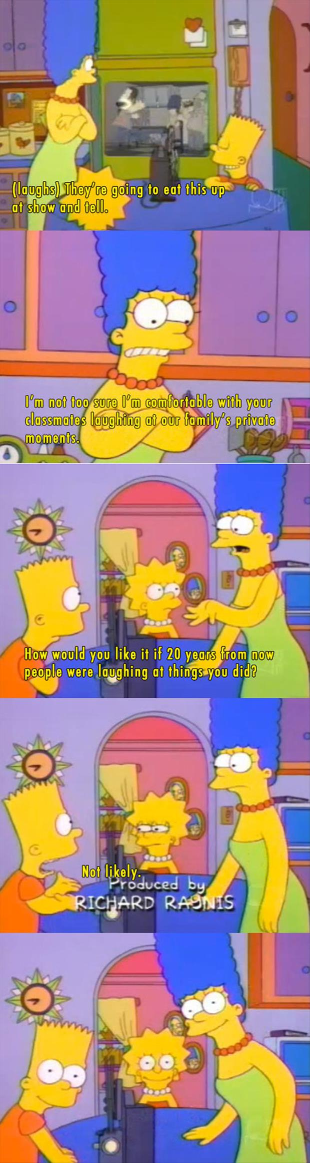 the simpsons funny captions