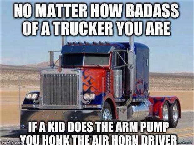 truck driver and dating