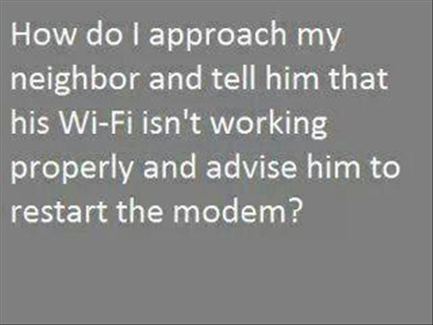 using your neighbor's wi fi