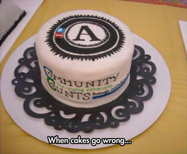 when cakes go bad