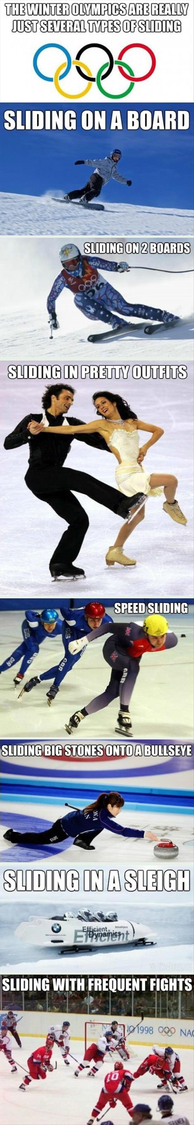 winter olympics funny pictures