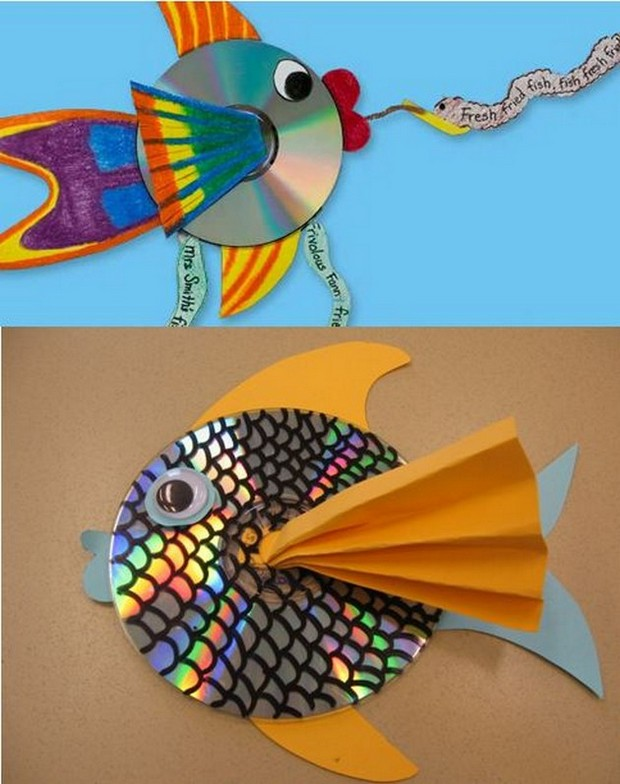 Pics photos 32 fun craft ideas using your old cd s