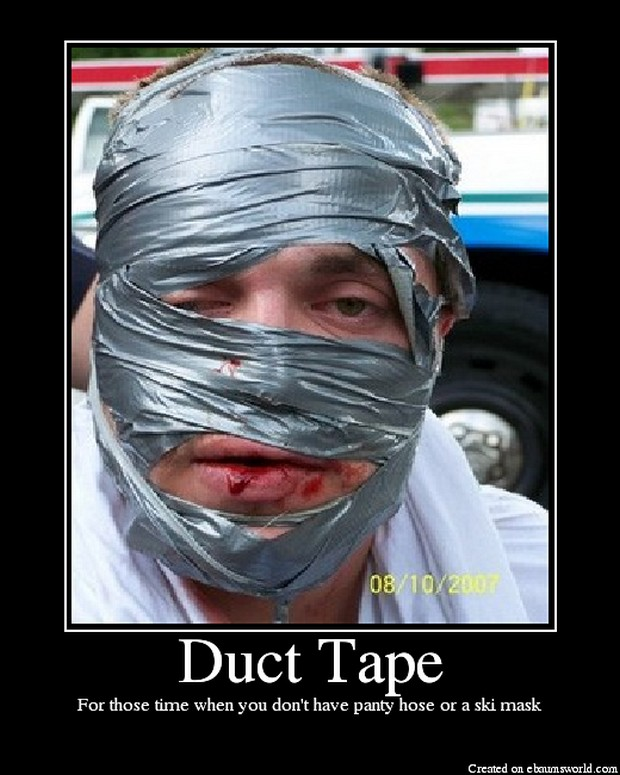 how to fix shower tape