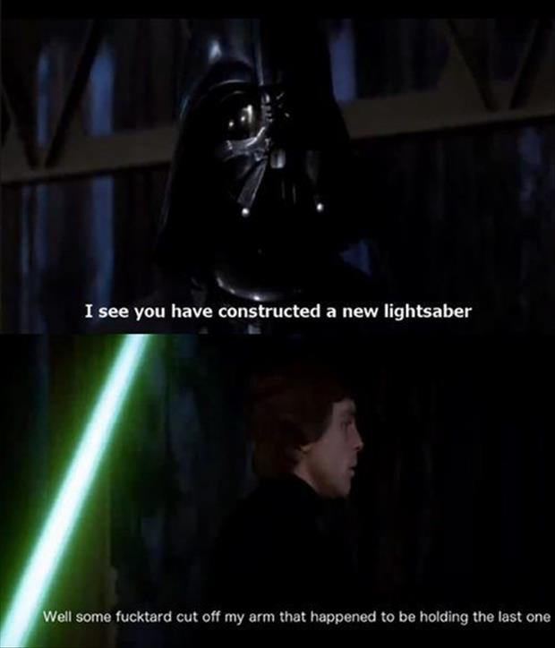 Funny darth vader quotes