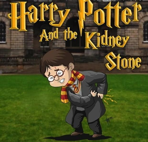 Harry potter and the kidney stone funny