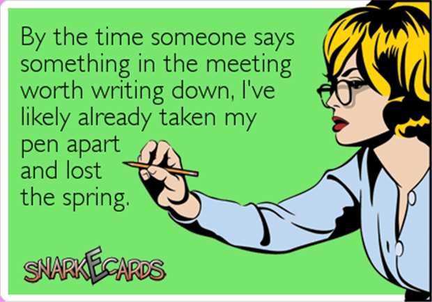a funny meeting