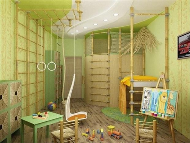 Amazing Bedroom Ideas Fascinating Of Kids Bedroom Jungle Gym Photo
