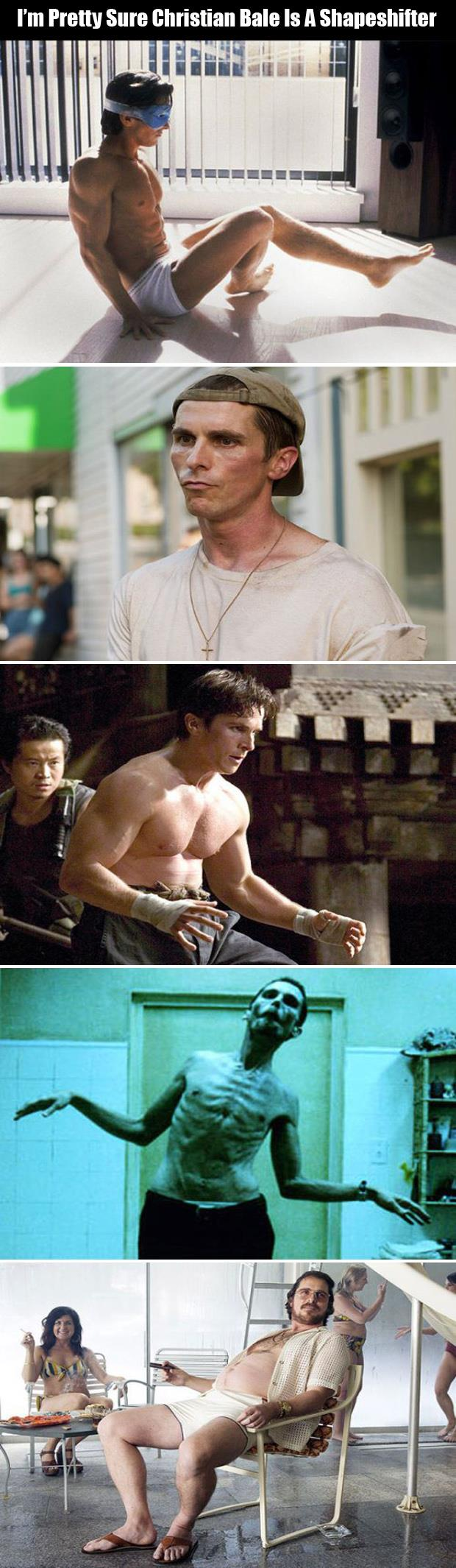 christian bale acting