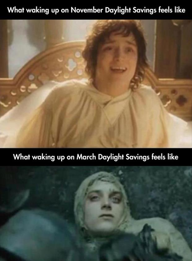 daylight savings time funny pictures