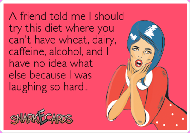 diets are hard funny