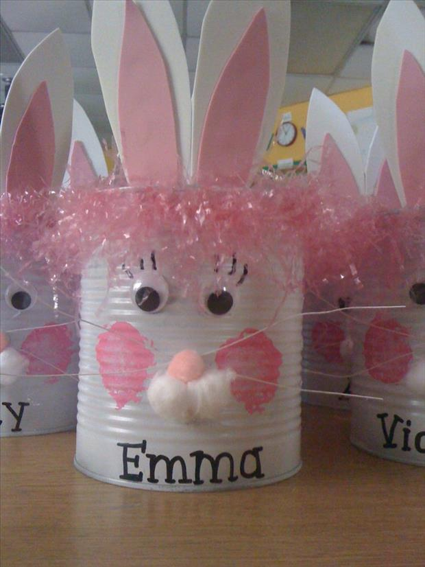 Easter crafts 11 dump a day - Easter basket craft ideas ...