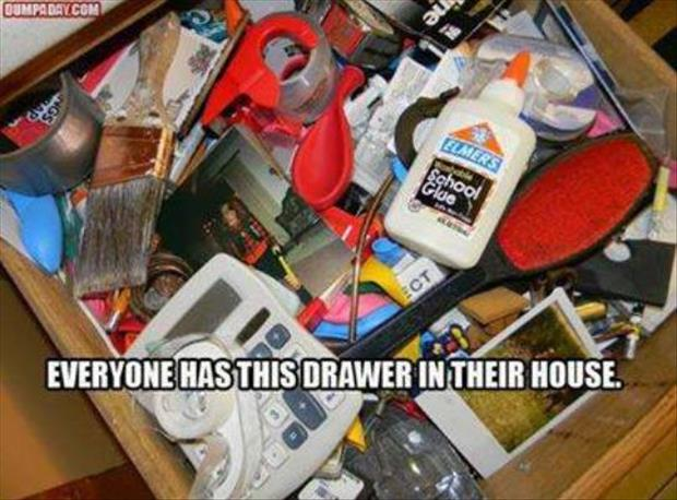 everyone has this drawer