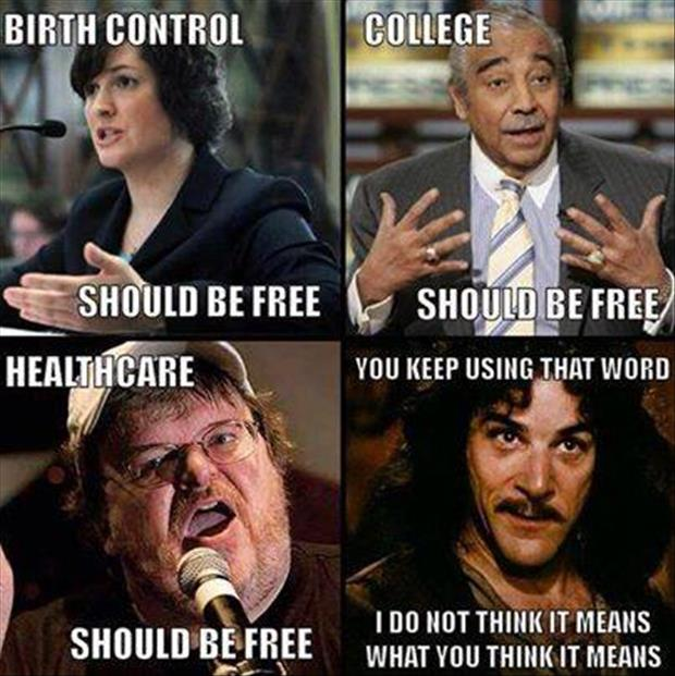 everything should be free