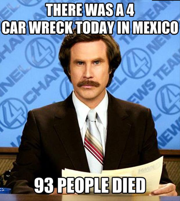 funny car accidents in mexico