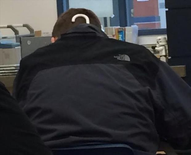 funny coat with a hanger